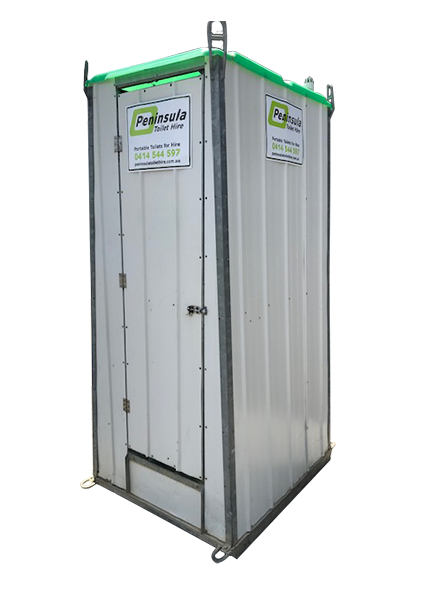 Peninsula Toilet Hire Metal Builders Toilet